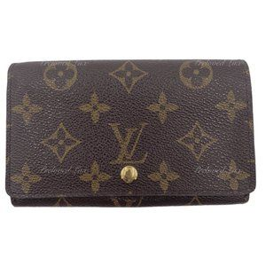 Authentic Louis Vuitton Monogram Canvas Wallet